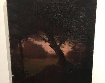 Landscape Painting Jessie Pixley Lacie on Canvas