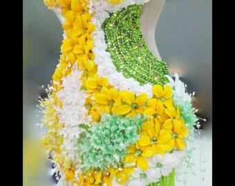Samba / Showgirl Costume by DaNeeDa - UK based piece RARE