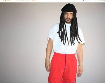 On SALE 35% Off - 90s VTG Fila Sportswear Swim Trunks Hip Hop Shorts - 1990s Fila - 90s Clothing - MV0165