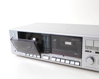 vintage CASSETTE tape PLAYER excellent condition playback record plug into receiver stereo component mid 90s vintage