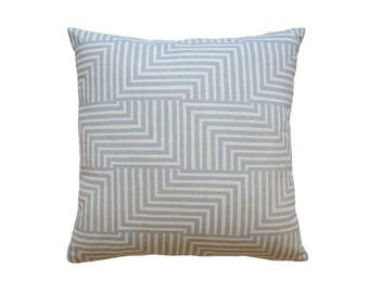 Pillow Cover - Geometric Modern Screen Printed Cushion