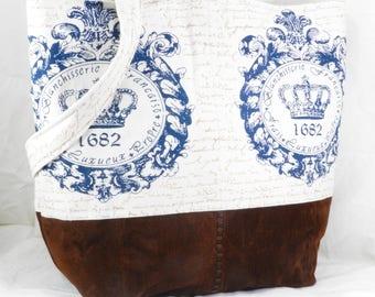 Shoulder Bag, Leather Purse, Carry All, Handmade Medium Tote