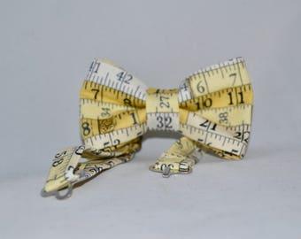 Tape Measure Bow Tie Boys