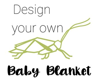 Custom Baby Blanket - Lovey Blanket - Security Blanket - Toddler Blanket - Minky Baby Blanket - Adult Minky Blanket - Baby Shower Gift