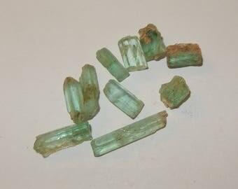Emerald - raw crystal