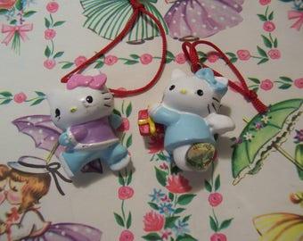 tiny hello kitty charm ornaments