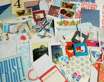 A Flight to the Orient  -  CRAFTY BITS - crafting kit with papers and embellishments