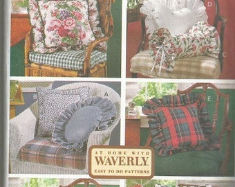 Vintage Butterick 6097 Pillow Pattern   CLEARANCE ITEM