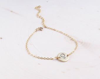 Feminist Bracelet | Girl Power | Feminism | Gift for Women | Dainty Bracelet | Delicate Bracelet | Gift for Her | Everyday Bracelet