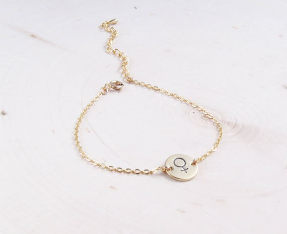 Feminist Bracelet | Girl Power | Feminism | Gift for Women | Dainty Bracelet | Delicate Bracelet | Gift for Her | Everyday Bracelet