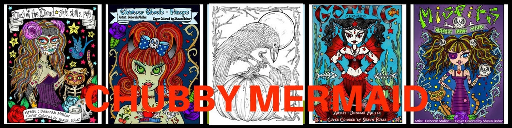 fun coloring books printables jewelry and art by chubbymermaid