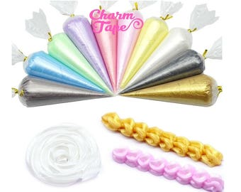 Pearl Whip Deco Cream - 50ml (Free 1 tip) Fake Frosting