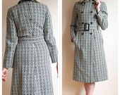 1960s Inspired Jacket // Mod Squad Trench Coat // vintage style jacket