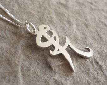 Sterling Silver Iratze or Healing Rune Pendant