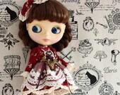 Set of 2 blythe dress / dal/Jerryberry/pullip dress/YOSD dress/Cute princess outfit / Blythe fashion / doll dress /doll clothes