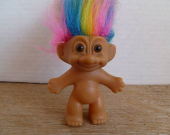 Russ Troll Doll Multi Color Hair, Russ