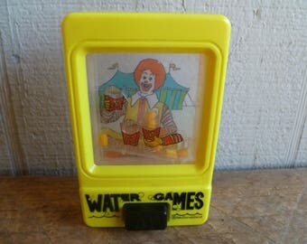 McDonalds Water Games  Ronald McDonald   Happy Meal Toy  1991