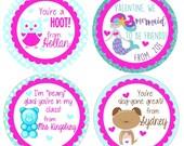 Owl Valentine/Mermaid Valentine/Gummy Bear Valentine/Puppy Valentine