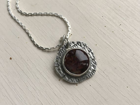 Pietersite Pendant | Pietersite Necklace | Organic Stone Jewelry