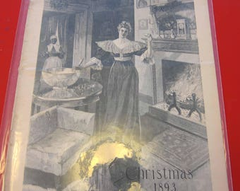 Magazine, Antique, Vintage, Fashions, Ads and Lots More: 1893, The Ladies Home Journal
