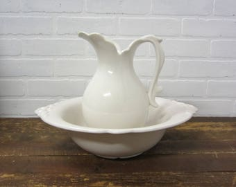 Sterling Colonial English Ironstone J Amp G Meakin White Creamer