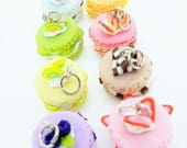Miniature Polymer Clay Foods Supplies for Beaded Jewelry Charm, 2 pcs