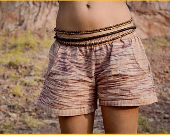 Women Shorts ~ Khadi Cotton
