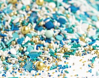 Bulk BEACH GLASS Twinkle Sprinkle Medley Sweetapolita