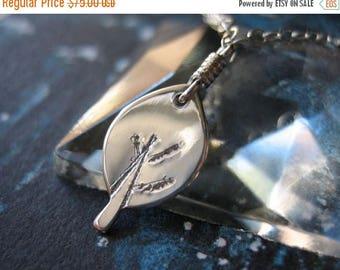 SALE Tiny Tree Sterling Silver Necklace