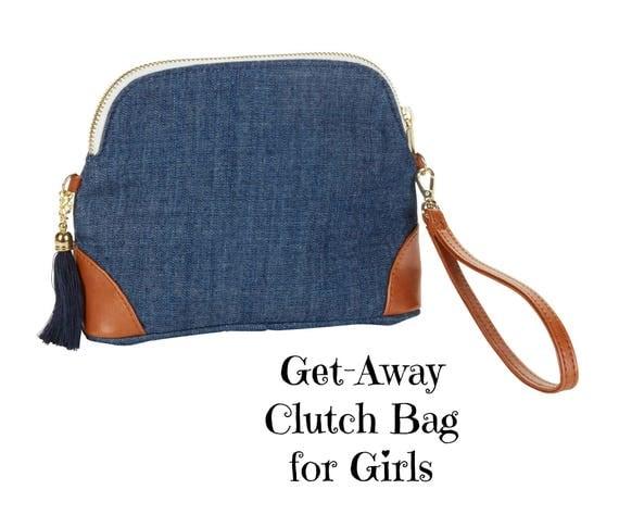 Get-Away Clutch Bag for Girls