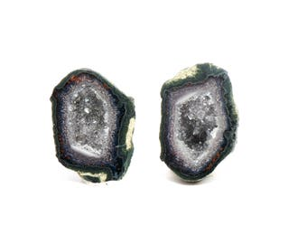 Baby Geode set #121, Jewelry, Dollhouse Miniatures