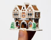 Micro Gingerbread Toy Shop Kit