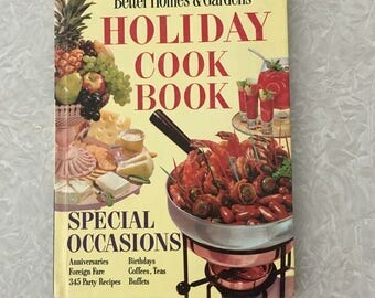 Better Homes and Gardens Holiday Cook Book, 1959