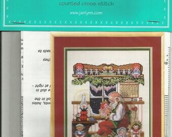 Santa's Workshop Janlynn's Just-A-Chart