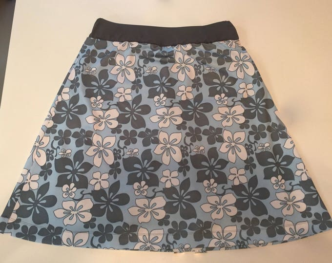 Featured listing image: READY to SHIP - Modest swim skirt with shorts Chlorine Resistant Running Skirt with Shorts Revamped Straight A style-