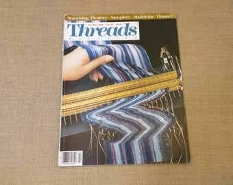 Threads Magazine February March 1989 Back Issue Number 21