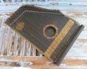 Imported French Antique beautifully crafted  Guitar zither 1920s
