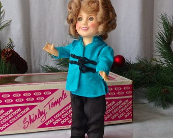 Vintage Shirley Temple Doll Ideal Toys Stowaway 1982
