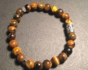 Unisex Tigereye Bracelet