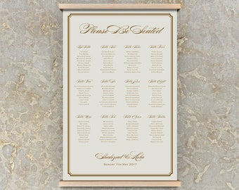 diy seating chart template, poster seating chart, wedding seating plan template, diy seating chart, table plan, seating plan template