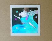 Decal Specialties Holographic Ballet Dancer Sticker