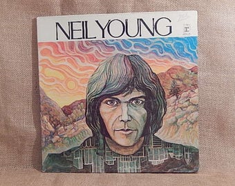 Neil Young -After The Gold Rush - 1970 Vintage Vinyl Gatefold Record Album
