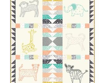 Savannah Panel Quilt Kit KIT48220 by Gingiber for Moda