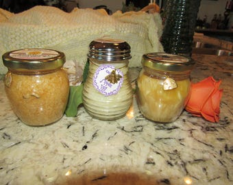 Volume Discount Buy All 5 Candles 6-10 oz Mixed Jars Already Made Highly Scented CLEARANCE SALE 4.99 Each