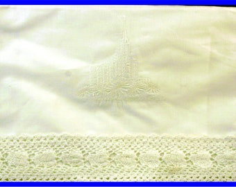 Oquirrh Mountain Temple - Lace Edge