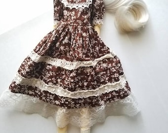 Ooak SD bjd The Country Girl Dress