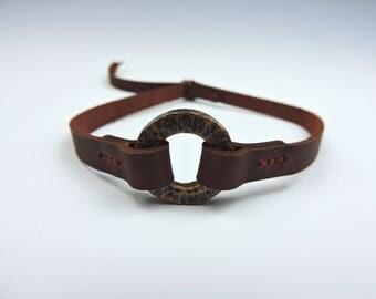 Copper Ring Choker, Stars