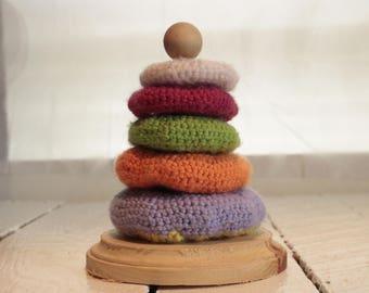 Crochet Stacking Rings