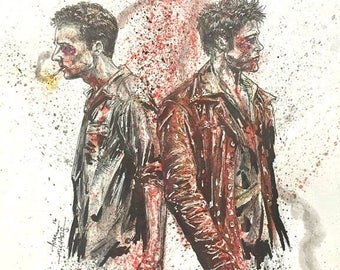 Fight Club 11x14 Art Print