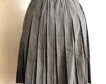 Vintage 60s Pleated Skirt